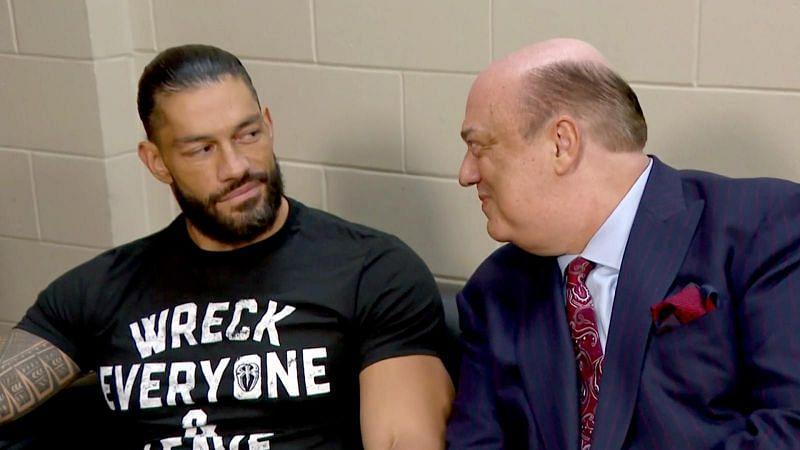 SmackDown में एक साथ नजर आए रोमन रेंस और पॉल हेमन