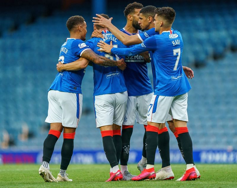 Rangers are unbeaten and at the top of the table