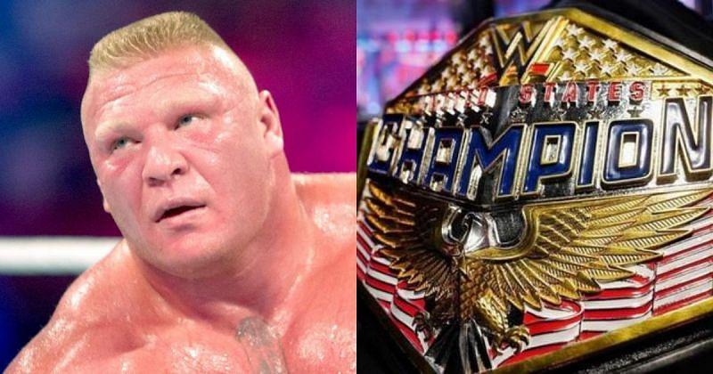 Brock Lesnar, WWE US title.