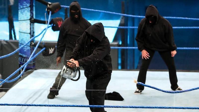 इस हफ्ते SmackDown का अंत काफी खतरनाक तरीके से हुआ