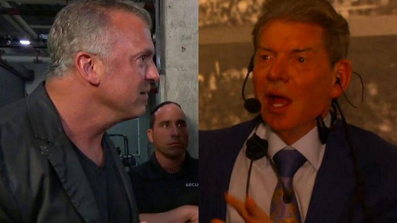 Shane McMahon and Vince McMahon.