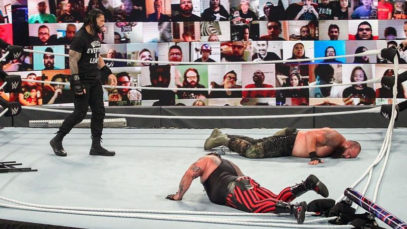 WWE Payback में कुल मिलाकर तीन चैंपियनशिप मैच हुए