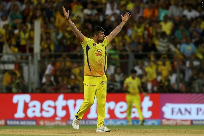 Indian leg-spinner Karn Sharma won the IPL in 3 consecutive years with 3 different teams