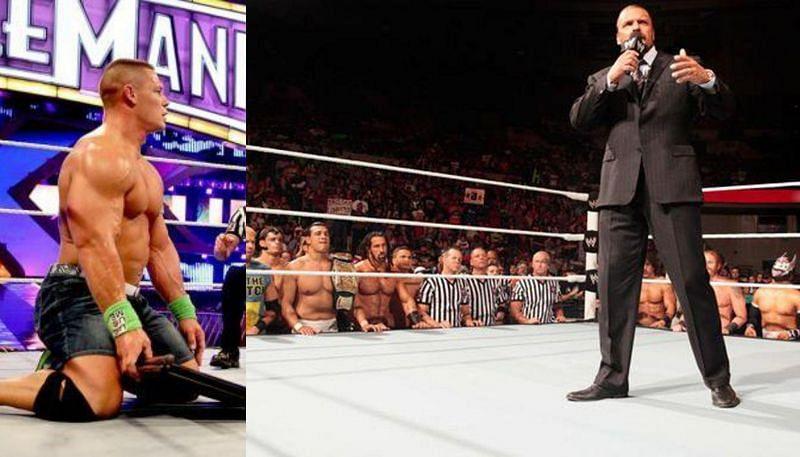 John Cena and Triple H
