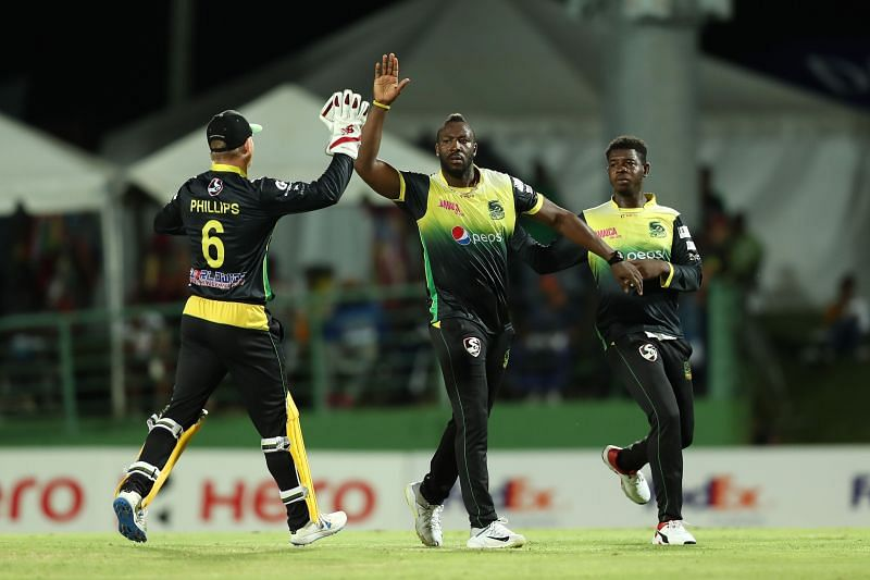 Andre Russell has taken most no. of wickets for Jamaica Tallawahs in CPL20.