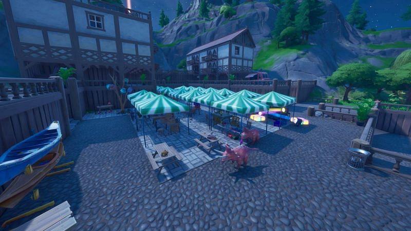 hide and seek fortnite map