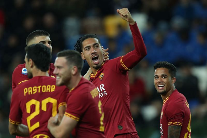 Smalling has been imperious at AS Roma