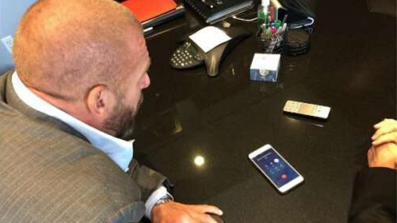 Triple H makes a lot of key decisions in WWE