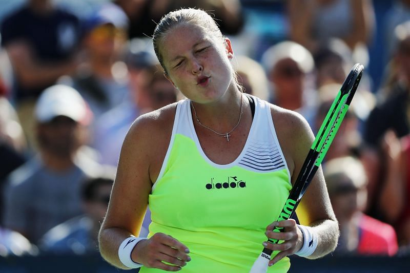 Shelby Rogers took out top seed Serena Williams in the last eight.