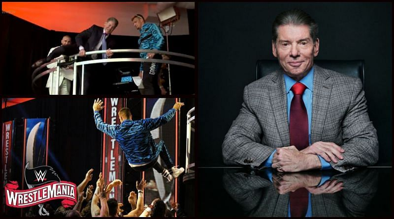 Vince McMahon is never one to shy away from leading by example