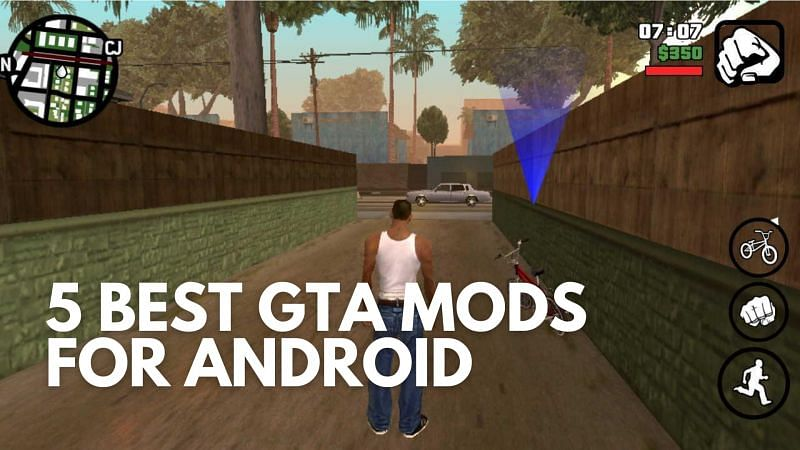 Best GTA 5 mods for Android