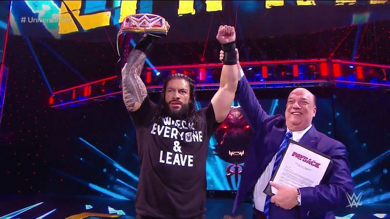 Roman Reigns is back on top.