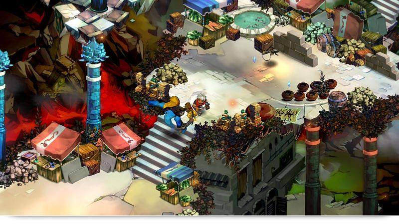 Bastion gameplay (Image credits: Medium)