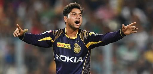 Kuldeep Yadav has picked up 39 wickets in 40 IPL matches. Credits: T2 Online
