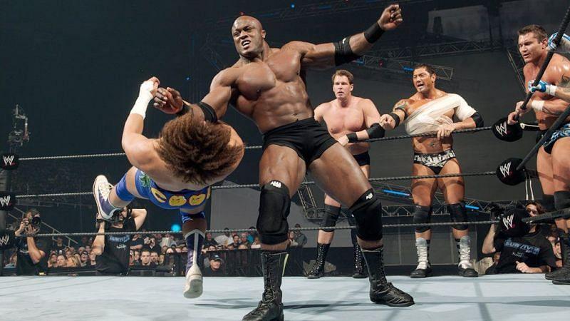 JBL gave Lashley his first WWE loss