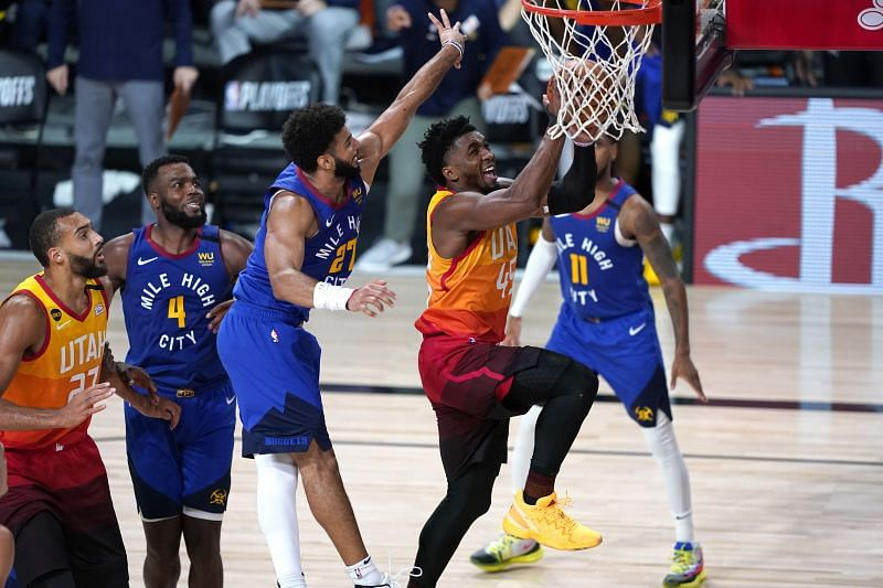 Jamal Murray and Donovan Mitchell had offensive explosions once again