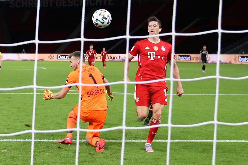 Lewandowski enjoyed a record breaking season