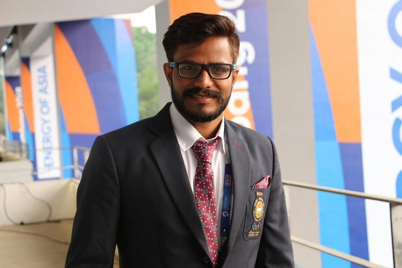 Physiotherapist Arvind Yadav