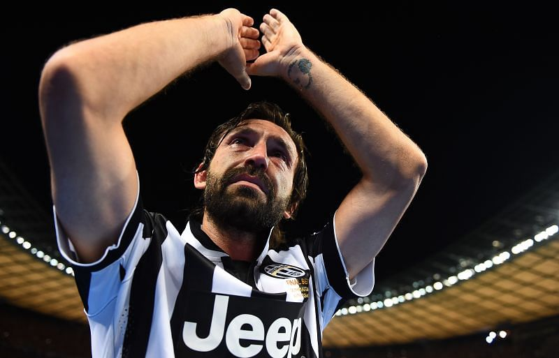 Andrea Pirlo is one of the most decorated players in the history of Juventus