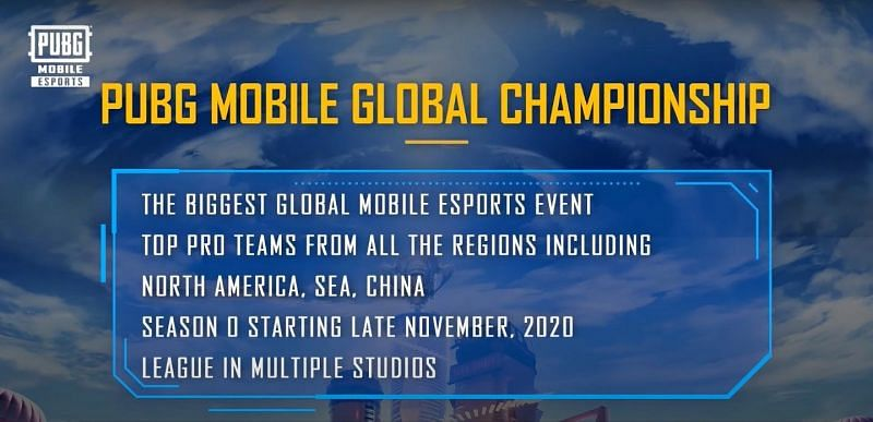 A snippet from the announcement about the championship (Image Credits: PUBG Mobile / YouTube)