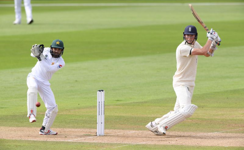England have reached a commanding position after the end of Day 1 at 332-4, thanks to Zak Crawley