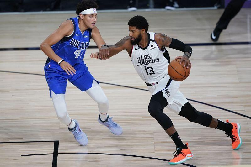 Dallas Mavericks v Los Angeles Clippers - Game 5