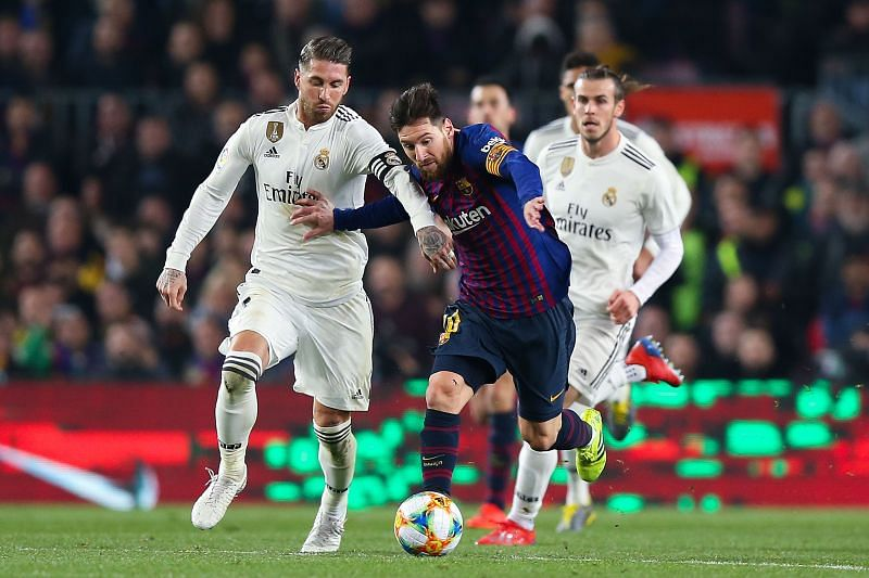 Barcelona and Real Madrid are sworn rivals