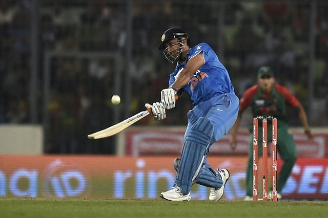 MS Dhoni is statistically the most successful lower-middle order batsman in history.