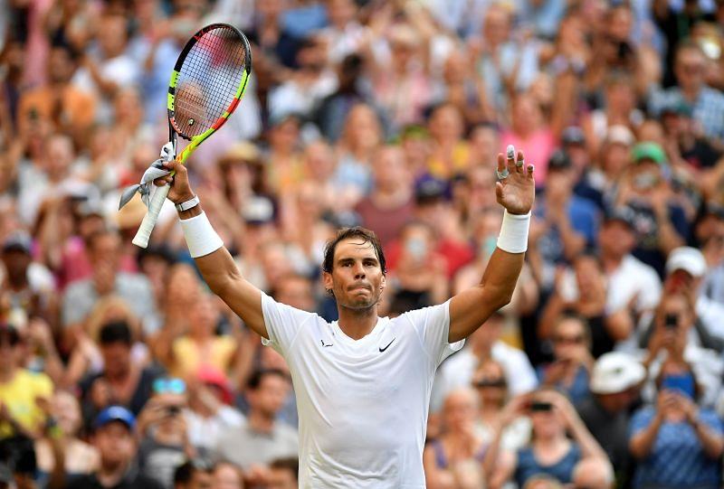 Rafael Nadal avenged his Wimbledon loss to Nick Kyrgios last year