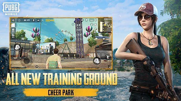 PUBG Mobile'da Yeni Cheer Park (Resim kredisi: PUBG Mobile)