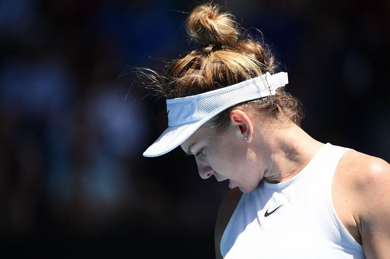 Simona Halep had to to battle hard for her wins early in the week.