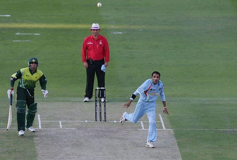 जोगिंदर शर्मा 2007 टी20 वर्ल्ड कप फाइनल के दौरान