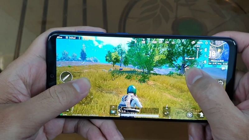 PUBG Mobile on Android (Image Credits: Test Game YouTube)