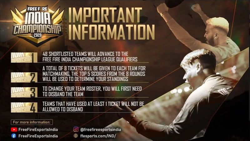 Important rules and regulations for the Free Fire Indian Championship 2020 (Image Credit: Free Fire/YT)