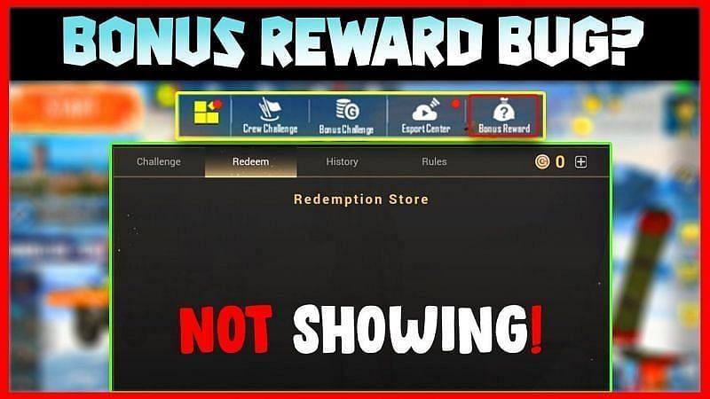 Bonus reward bug solved