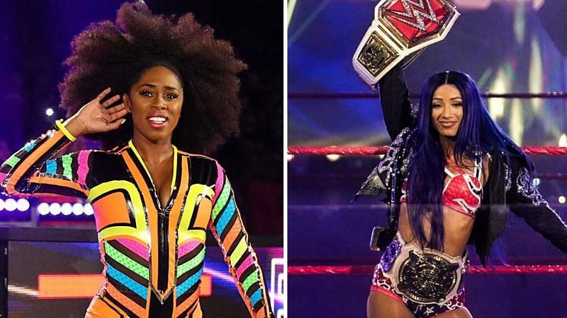 SmackDown Superstar Naomi has heaped praise on Sasha Banks