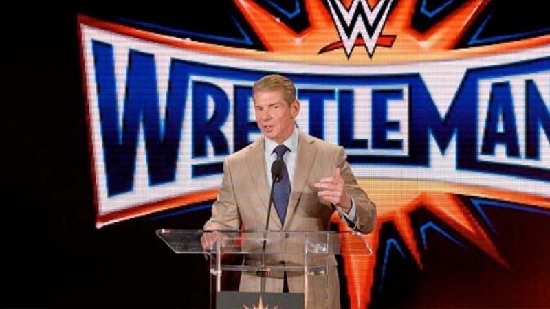 Vince McMahon ultimately decides who will headline WrestleMania