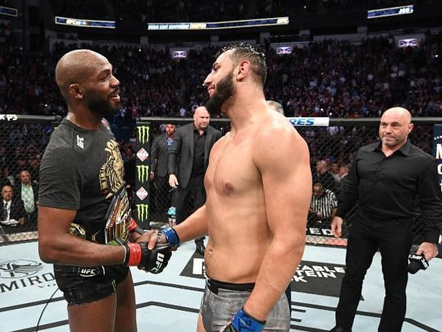 Jon Jones and Dominick Reyes previously fought at UFC 247