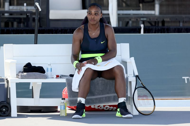 Serena Williams will face Maria Sakkari in the Round of 16 in New York