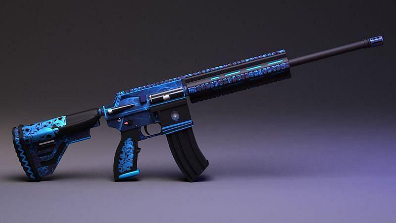 M416 weapon in PUBG Mobile (Image Credit: ArtStation)