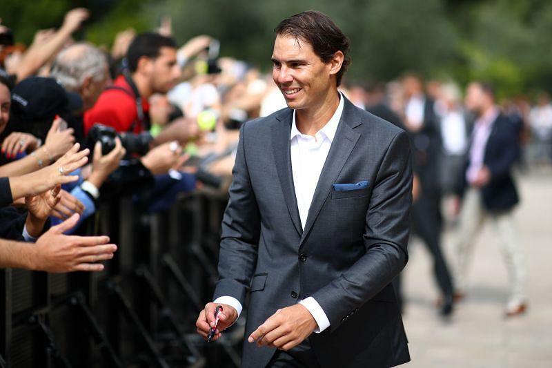 Rafael Nadal at Laver Cup 2019