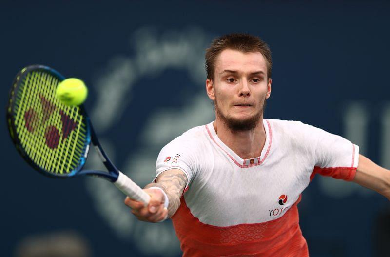 Alexander Bublik at the 2020 Dubai Open