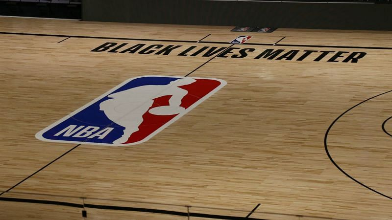 NBA court - cropped