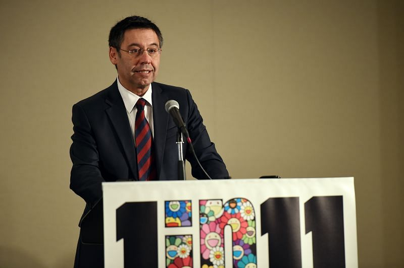 FC Barcelona president Josep Maria Bartomeu has come under immense scrutiny in recent months