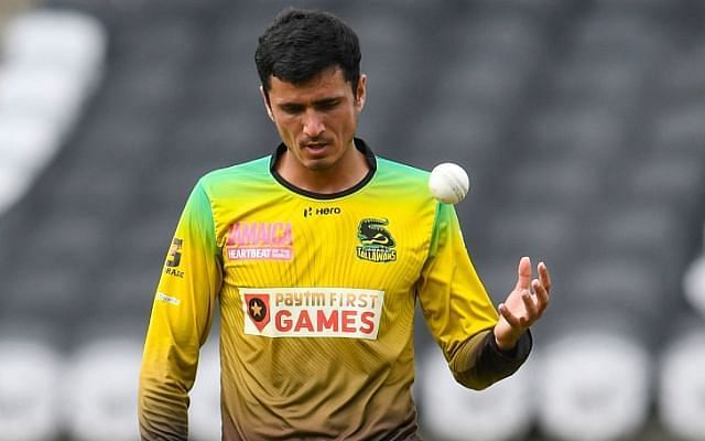 Mujeeb won the Man-of-the-Match award in the previous CPL game