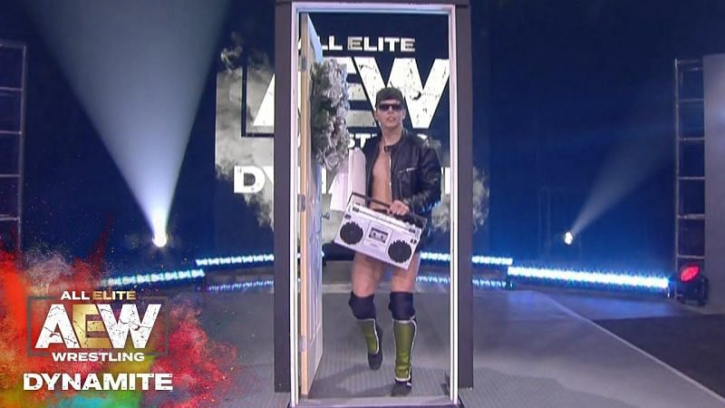 Sammy G was literally knocking on doors to get into WWE (Pic Source: AEW)