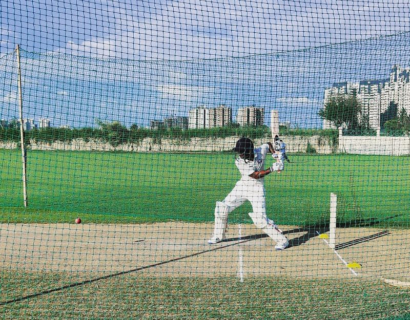 Tanmay Srivastav recently faced many IPL-bound bowlers in the nets.