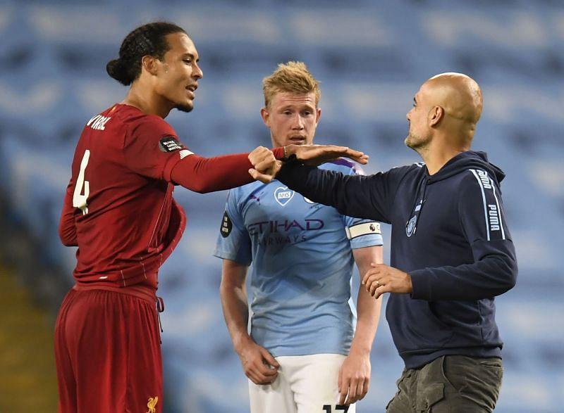 Xavi heaped praise on Kevin De Bruyne, Pep Guardiola and Virgil van Dijk