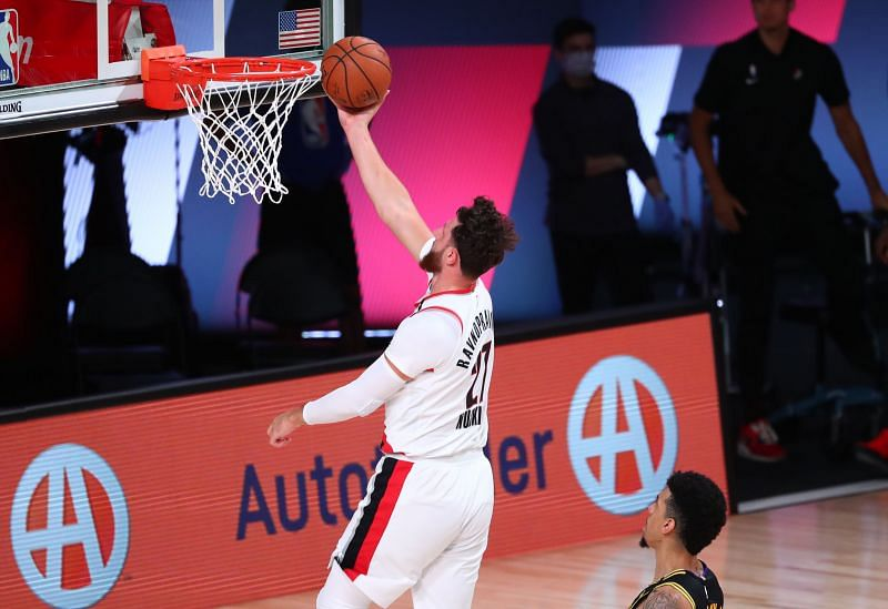 Jusuf Nurkic had a big game for the Portland Trail Blazers