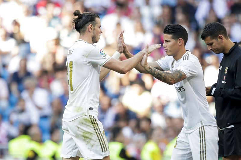 Gareth Bale and James Rodriguez are two more players Real Madrid want to sell